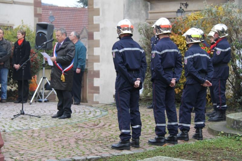 11 novembre - Célébration de l'armistice à Wangen le vendredi 11 novembre 2011 Img_8829