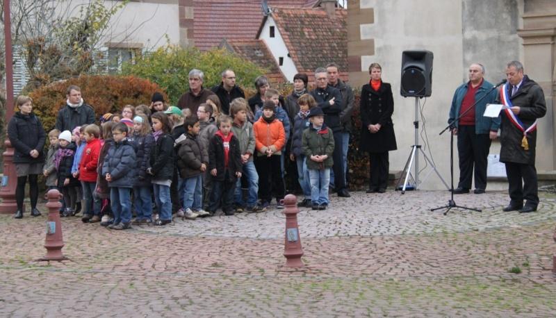 11 novembre - Célébration de l'armistice à Wangen le vendredi 11 novembre 2011 Img_8831