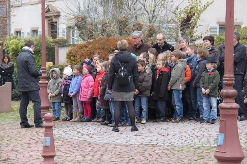11 novembre - Célébration de l'armistice à Wangen le vendredi 11 novembre 2011 Img_8833