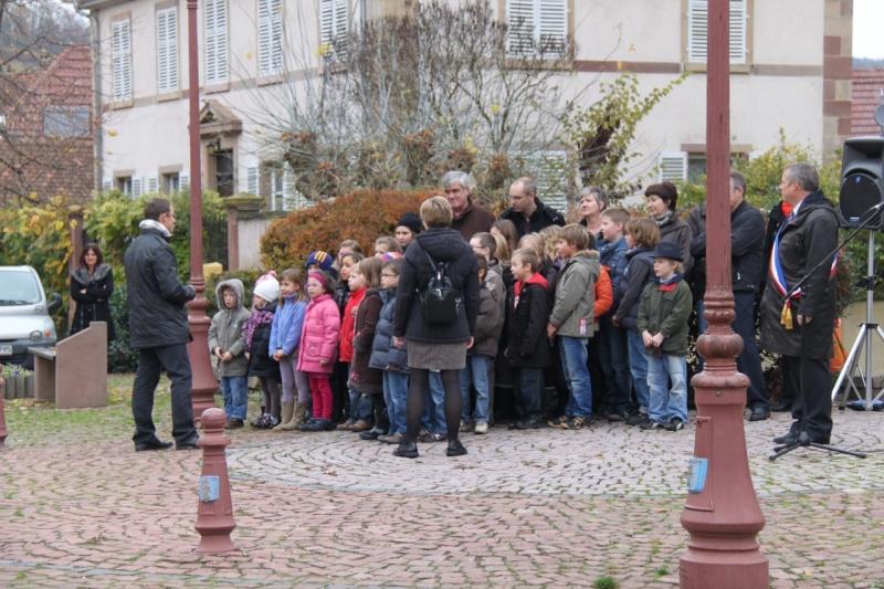 11 novembre - Célébration de l'armistice à Wangen le vendredi 11 novembre 2011 Img_8834