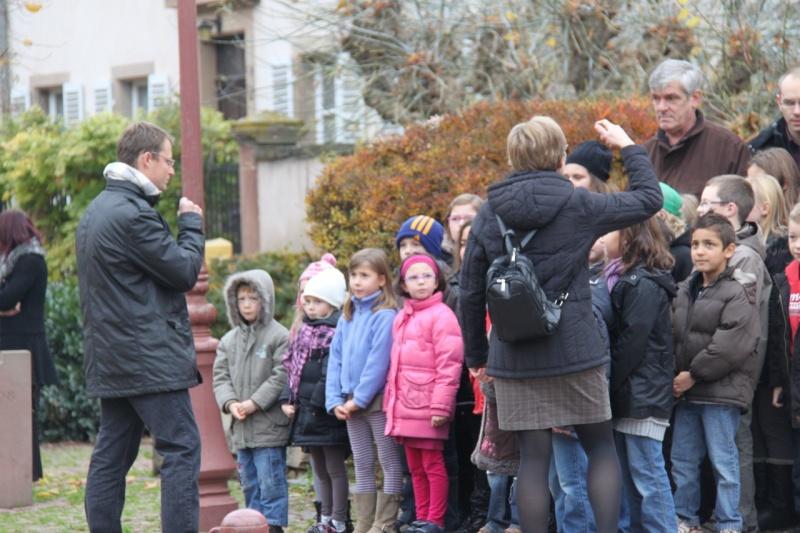 11 novembre - Célébration de l'armistice à Wangen le vendredi 11 novembre 2011 Img_8835