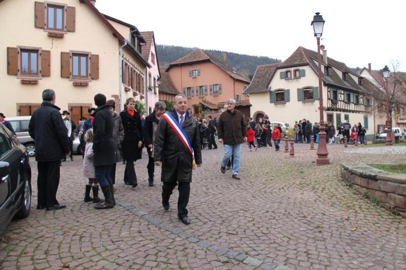 11 novembre - Célébration de l'armistice à Wangen le vendredi 11 novembre 2011 Img_8839