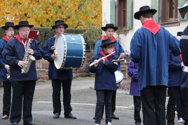 La commémoration de l'Armistice à Quatzenheim, Wangen et Nordheim avec la Musique Harmonie de Wangen Img_8846