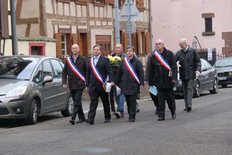 La commémoration de l'Armistice à Quatzenheim, Wangen et Nordheim avec la Musique Harmonie de Wangen Img_8847