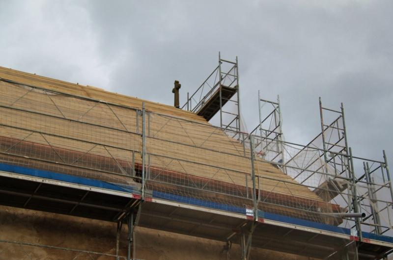 Le chantier de restauration de l'église simultanée de Wangen ... Img_8855