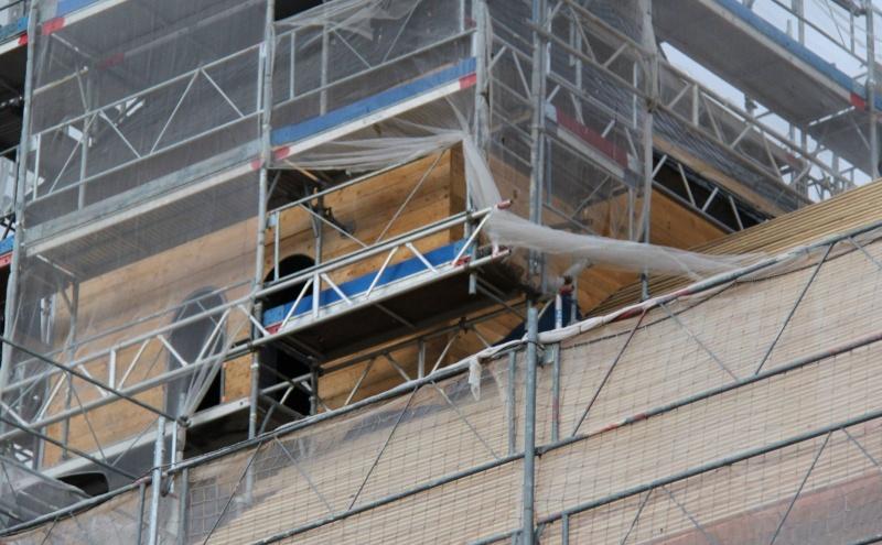 Le chantier de restauration de l'église simultanée de Wangen ... Img_8856
