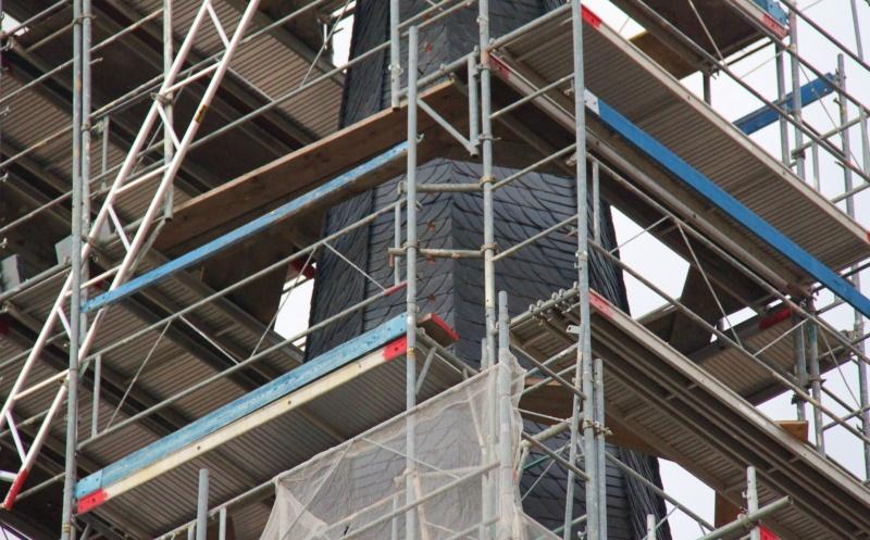 Le chantier de restauration de l'église simultanée de Wangen ... Img_8857