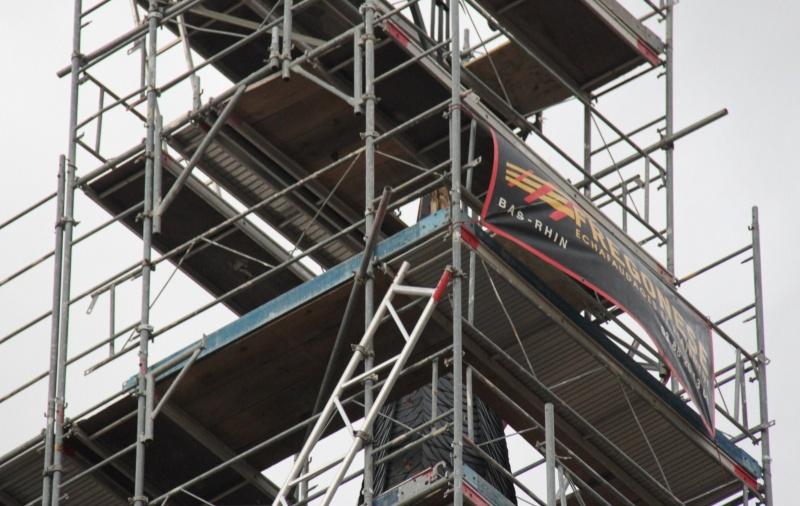 Le chantier de restauration de l'église simultanée de Wangen ... Img_8858