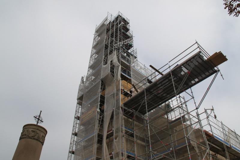 Le chantier de restauration de l'église simultanée de Wangen ... Img_9163