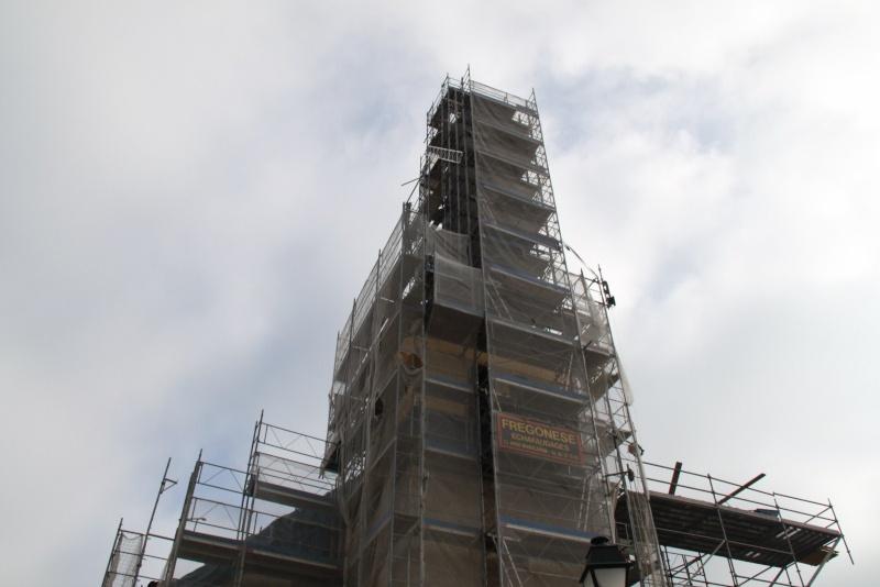 Le chantier de restauration de l'église simultanée de Wangen ... Img_9164