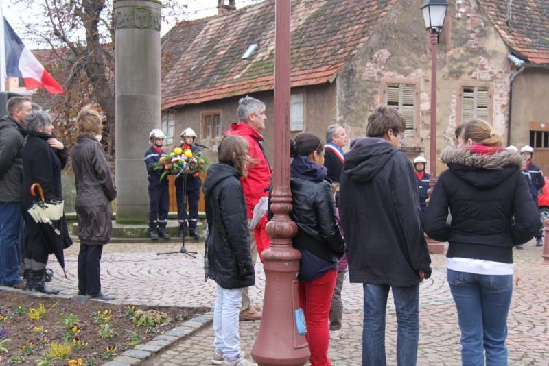 Wangen : 11 novembre 2012 ,commémoration de l'Armistice 1918 Img_9176