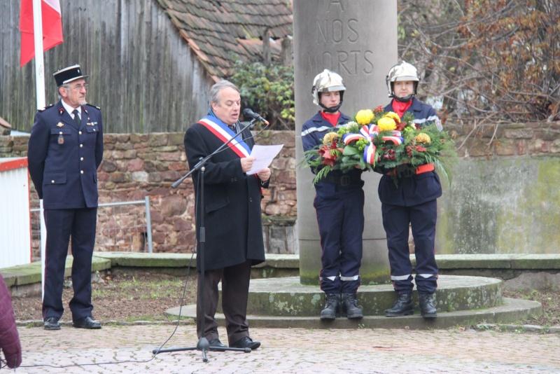 Wangen : 11 novembre 2012 ,commémoration de l'Armistice 1918 Img_9177