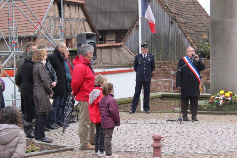 Wangen : 11 novembre 2012 ,commémoration de l'Armistice 1918 Img_9180