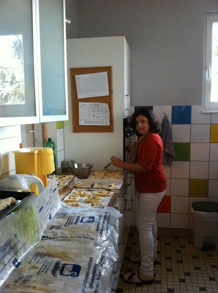""""""" Atelier  brioche""""  à la maison C du Freihof à Wangen mercredi 30 novembre 2011 Iphone44"""