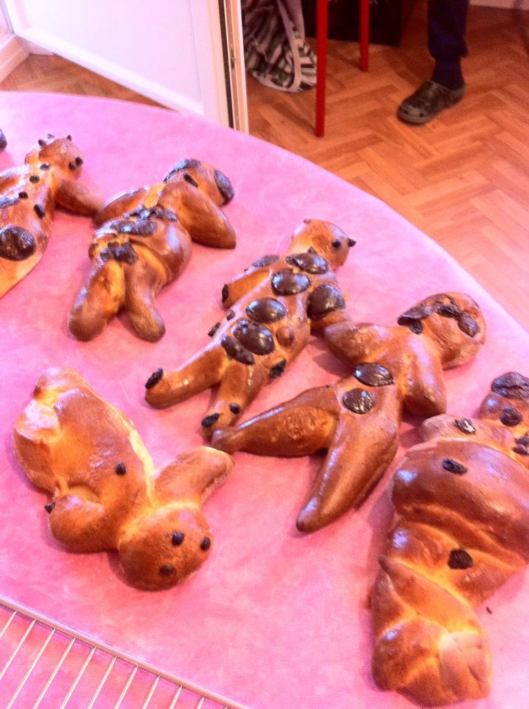 """"""" Atelier  brioche""""  à la maison C du Freihof à Wangen mercredi 30 novembre 2011 Iphone59"""