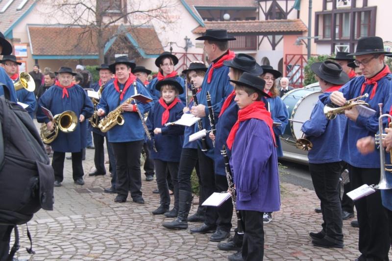 La commémoration de l'Armistice à Quatzenheim, Wangen et Nordheim avec la Musique Harmonie de Wangen Nordhe10