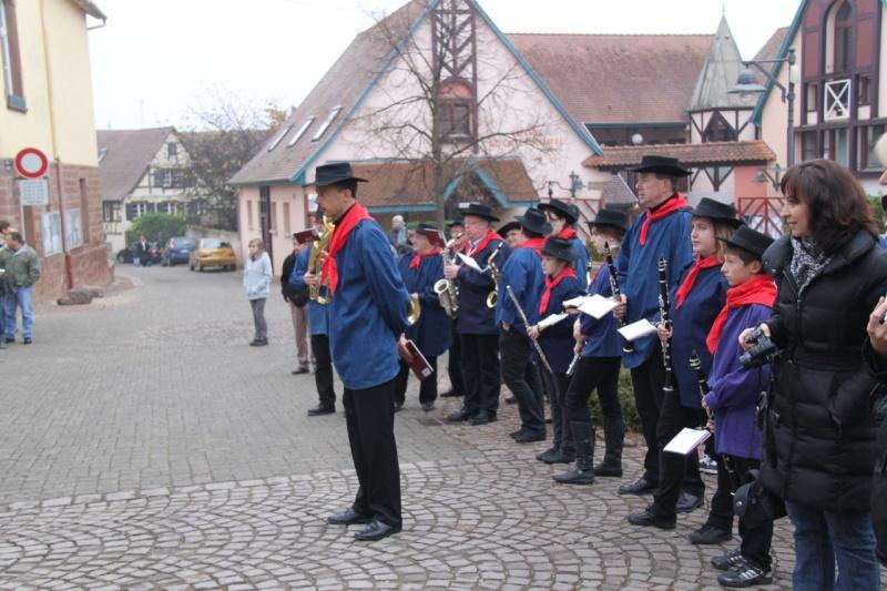 La commémoration de l'Armistice à Quatzenheim, Wangen et Nordheim avec la Musique Harmonie de Wangen Nordhe13