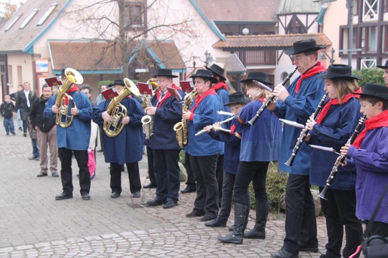 La commémoration de l'Armistice à Quatzenheim, Wangen et Nordheim avec la Musique Harmonie de Wangen Nordhe14