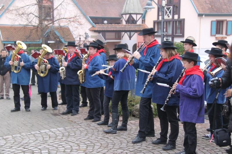 La commémoration de l'Armistice à Quatzenheim, Wangen et Nordheim avec la Musique Harmonie de Wangen Nordhe15