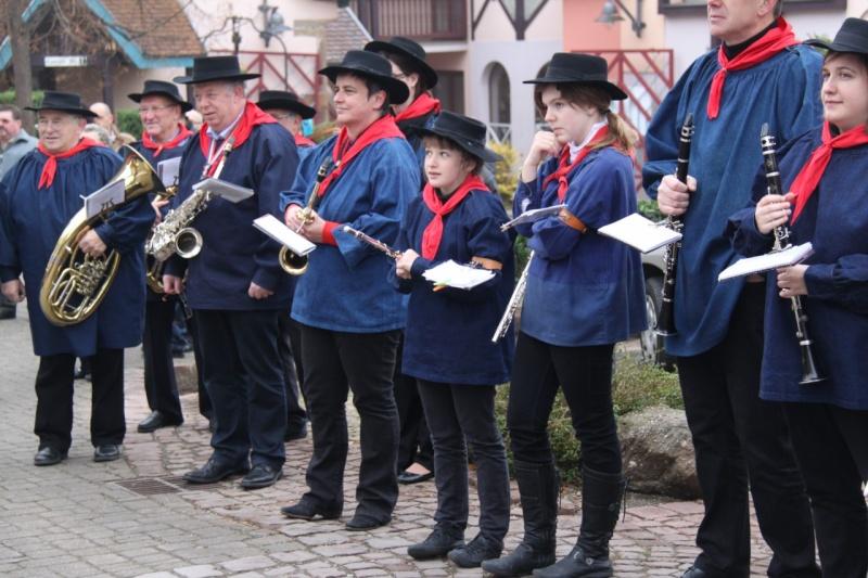 La commémoration de l'Armistice à Quatzenheim, Wangen et Nordheim avec la Musique Harmonie de Wangen Nordhe23