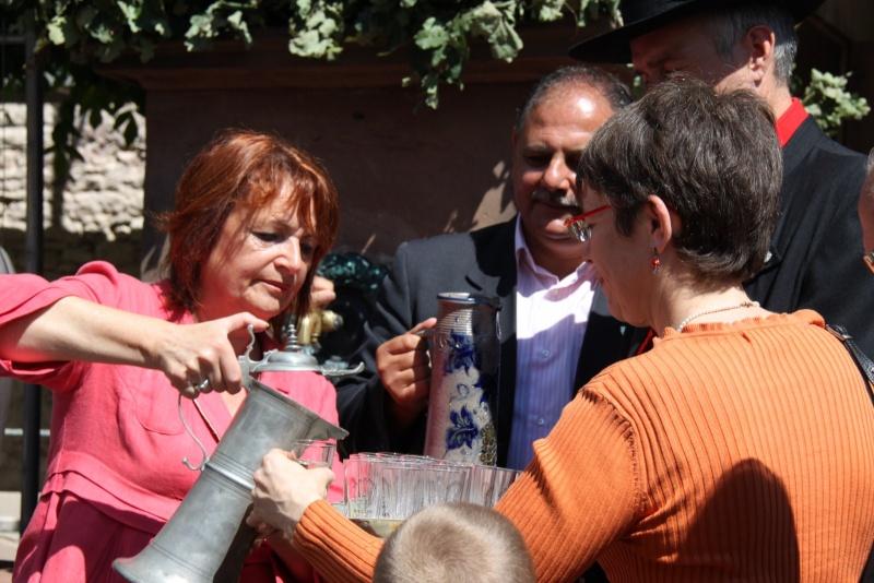 Wangen : Fête de la Fontaine le 8 juillet 2012 Pisci107