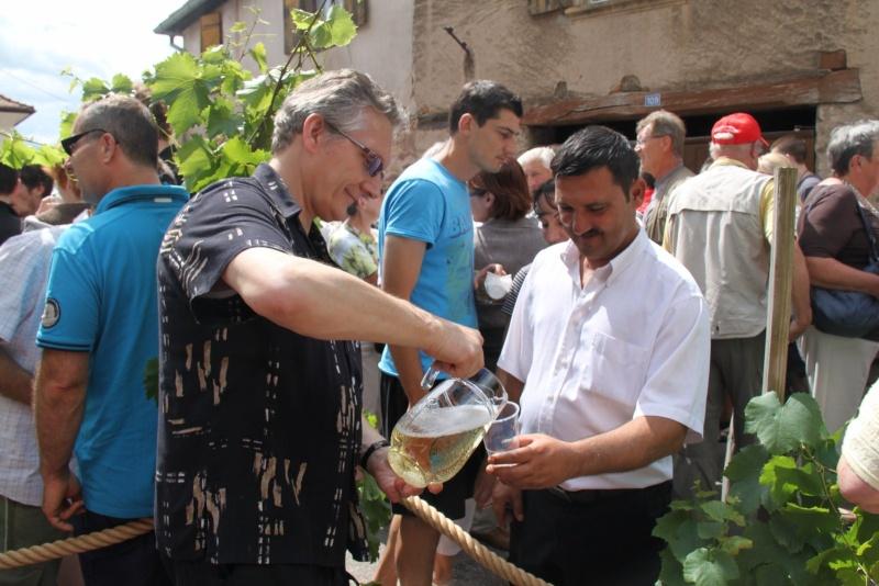 Wangen : Fête de la Fontaine le 8 juillet 2012 Pisci134
