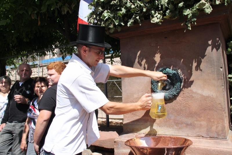 Wangen : Fête de la Fontaine le 8 juillet 2012 Pisci137