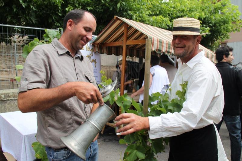 Wangen : Fête de la Fontaine le 8 juillet 2012 Pisci144