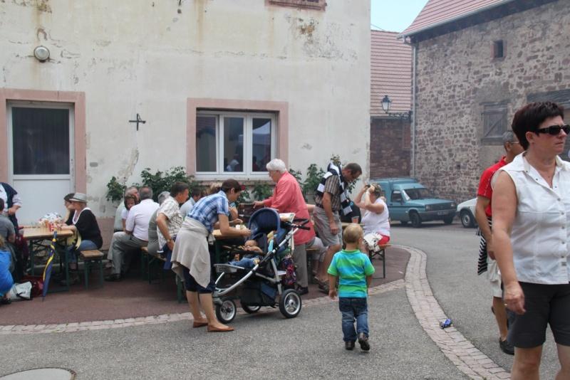 Wangen : Fête de la Fontaine le 8 juillet 2012 Pisci146