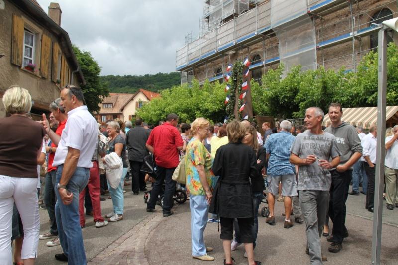 Wangen : Fête de la Fontaine le 8 juillet 2012 Pisci149
