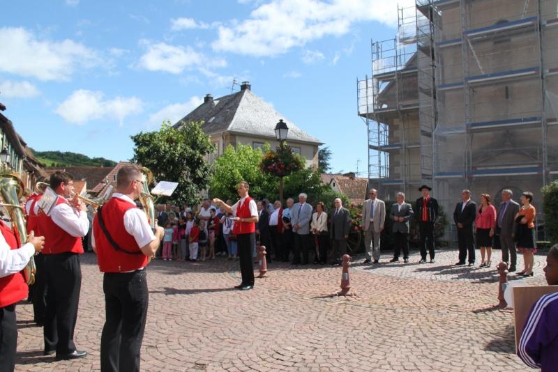 Wangen : Fête de la Fontaine le 8 juillet 2012 Piscin68