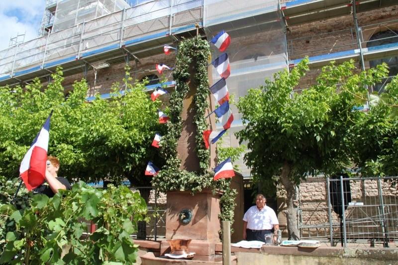 Wangen : Fête de la Fontaine le 8 juillet 2012 Piscin73
