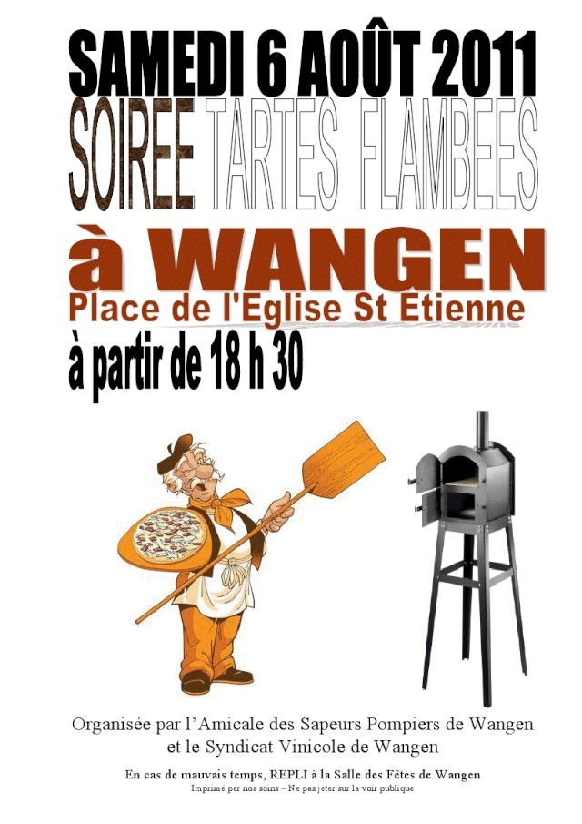 Soirée tartes flambées le samedi 6 août 2011 à Wangen Viewer11