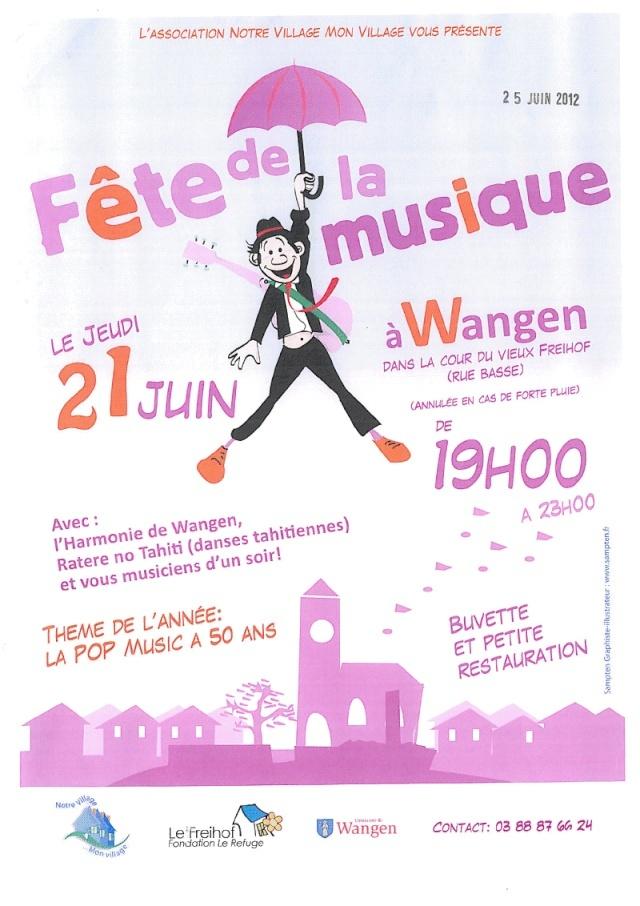 Fête de la musique à Wangen le jeudi 21 juin 2012 Viewer13