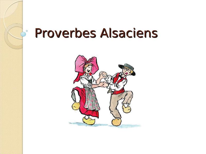 Di Sprichwerter : les proverbes Viewer13