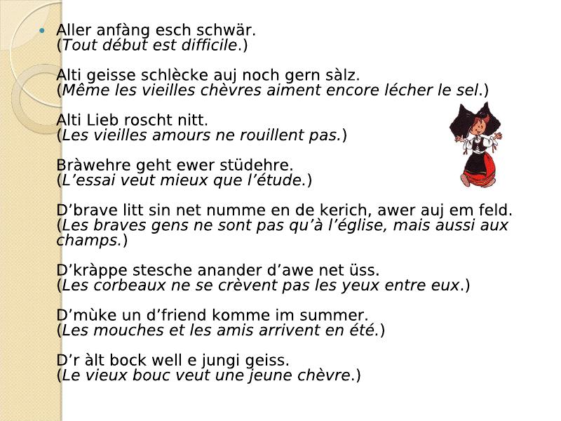 Di Sprichwerter : les proverbes Viewer14