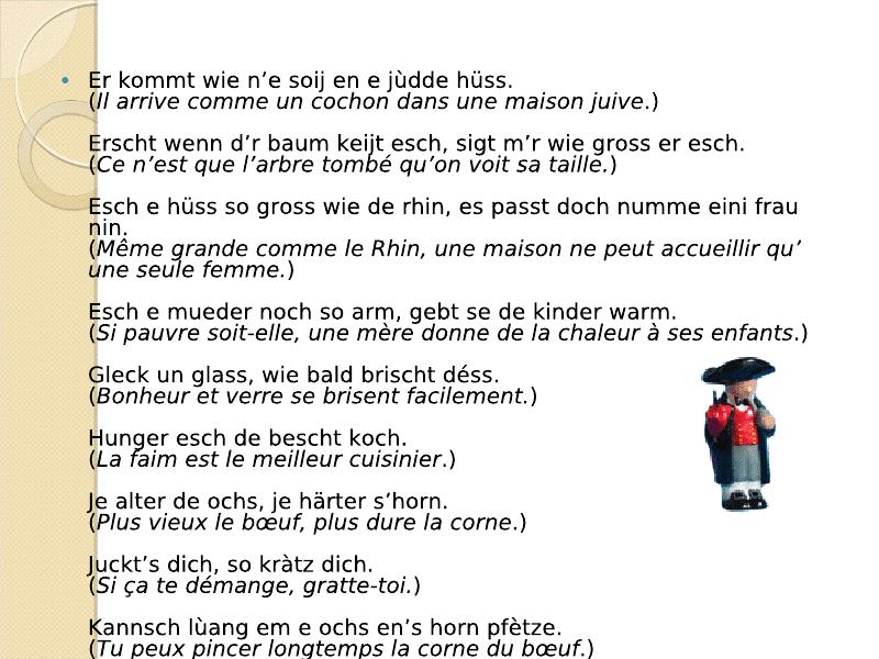Di Sprichwerter : les proverbes Viewer17