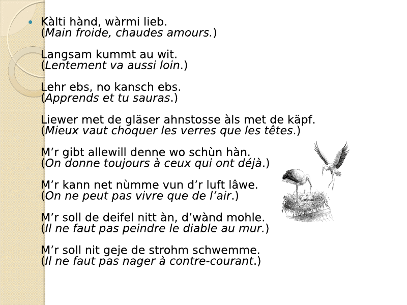 Di Sprichwerter : les proverbes Viewer18