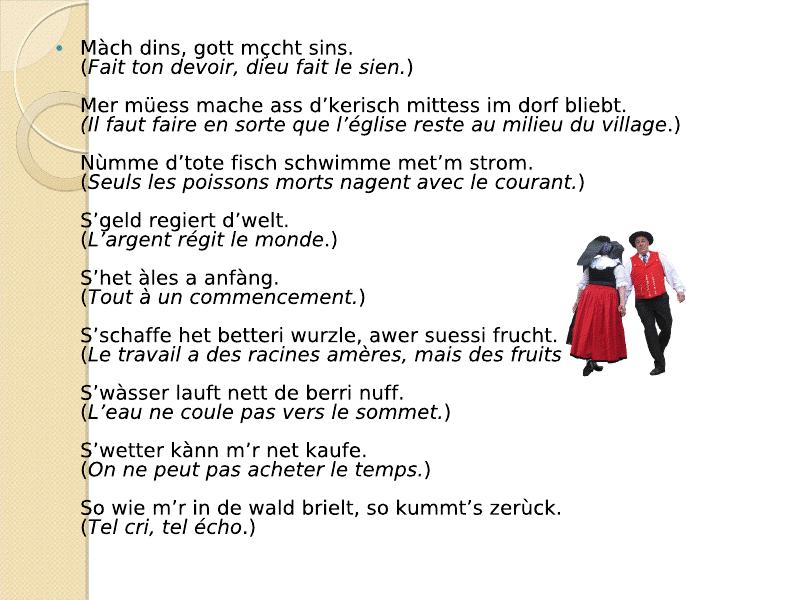 Di Sprichwerter : les proverbes Viewer19