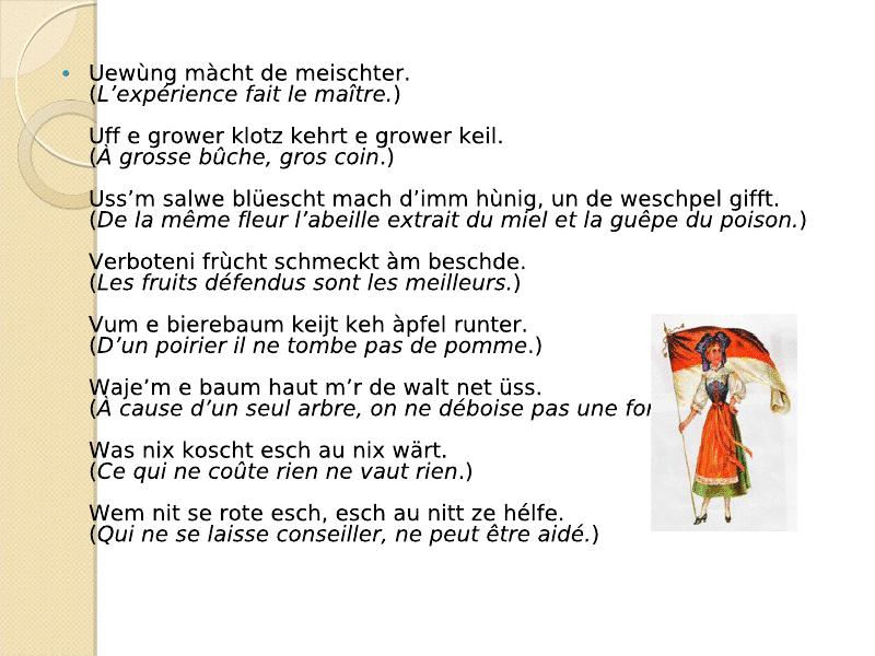 Di Sprichwerter : les proverbes Viewer20