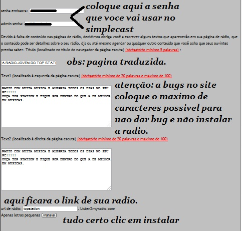 CRIANDO SUA RADIO WEB Tuto10