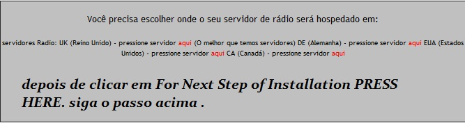 CRIANDO SUA RADIO WEB Tuto210