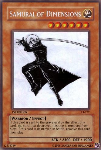 Samurai of Dimensions Create13