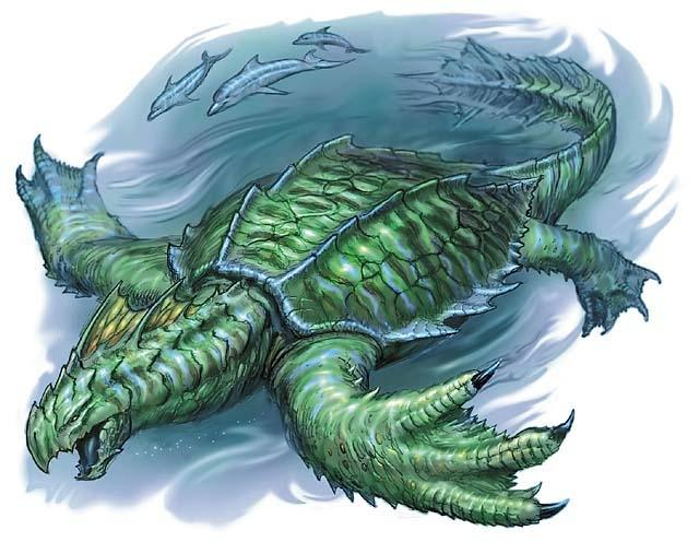 Kazeneku-The Green Sea Turtle Azul12