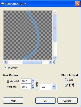 [GIMP] Glow Effect 710