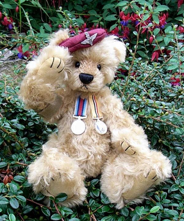 Homeward Bound Soldier Bear by Lynette Chrisf12