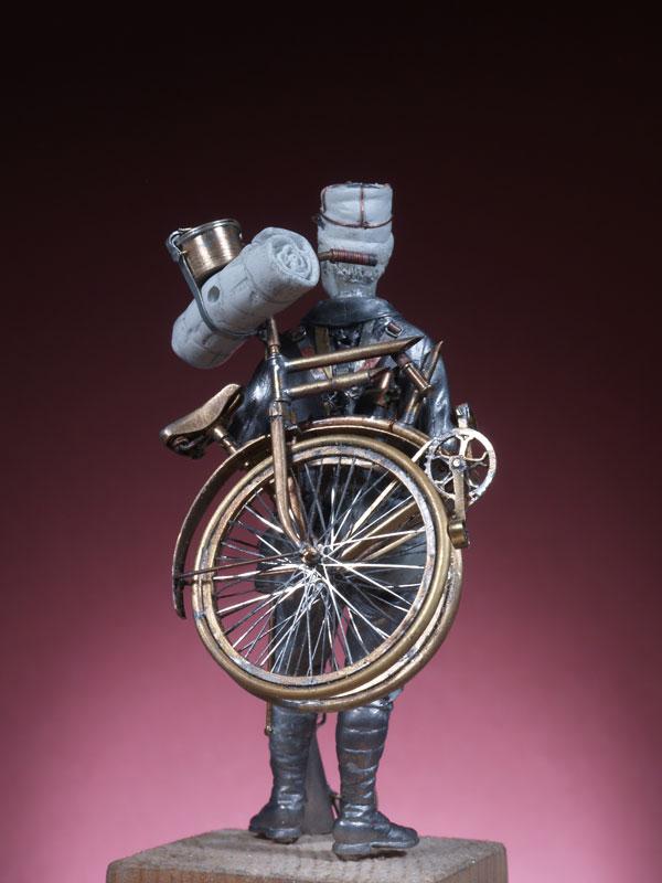 Chasseur cycliste 1914 Cc210