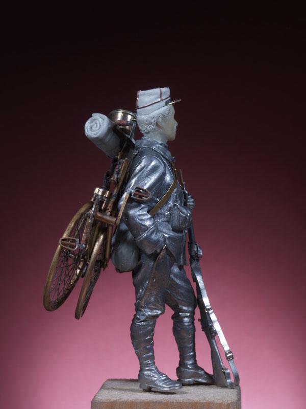 Chasseur cycliste 1914 Cc310