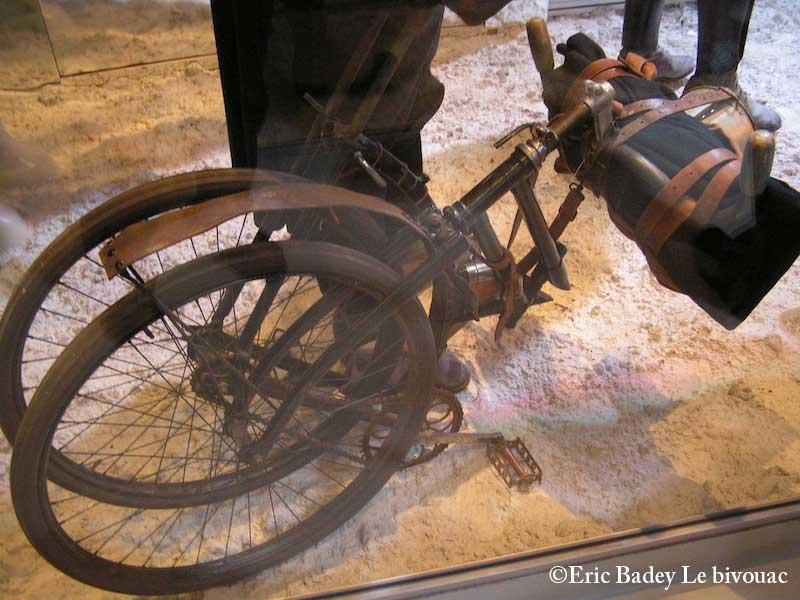 Meaux (77) : Musée de la grande guerre Velo110