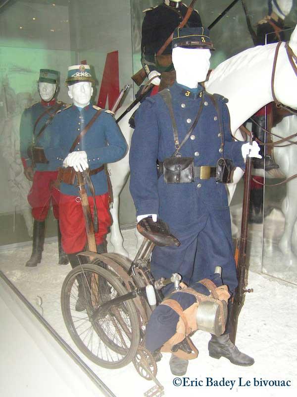 Meaux (77) : Musée de la grande guerre Velo210